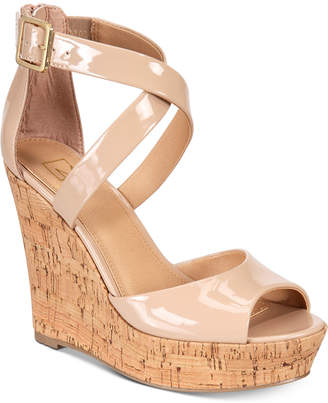 Material Girl Steffy Platform Wedges, Created for Macy's Women's Shoes