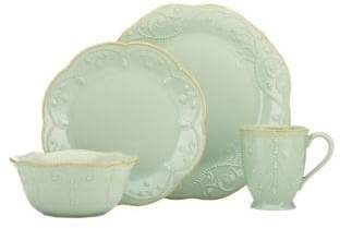 Lenox French Perle Blue 4 Piece Place Setting