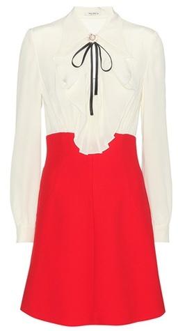 Miu MiuMiu Miu Two-toned Dress