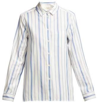 Max Mara Canova Shirt - Womens - Blue White