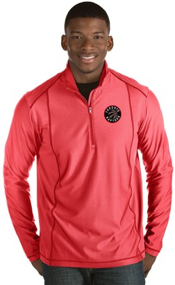Antigua Men's Toronto Raptors Tempo Quarter-Zip Pullover