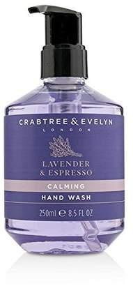 Crabtree & Evelyn Lavender & Espresso Calming Hand Wash - 250ml/8.5oz