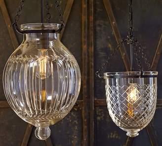 Pottery Barn Hundi Cut Glass Lantern