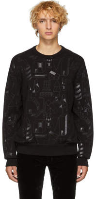 BOSS Black Jeremyville Edition Graphic Sweater