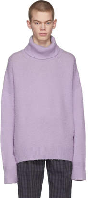 Acne Studios Purple Nyran Turtleneck