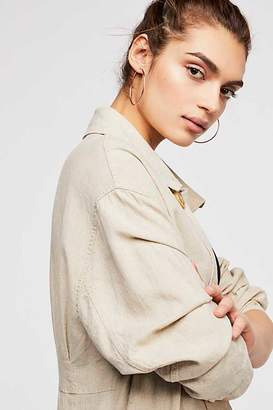 Jules Smith Designs Facet Hoop Earrings