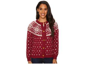 Woolrich Snowfall Valley Cardigan Women's Sweater