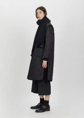 Comme des Garcons Wool Knit Stole Navy