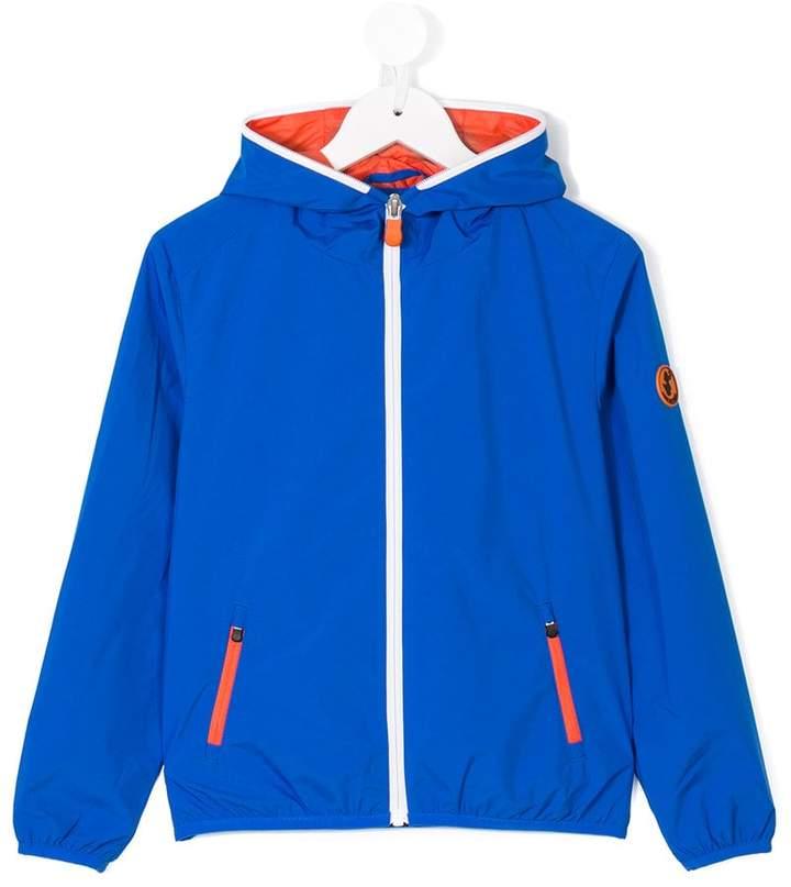 Save The Duck Kids hooded windbreaker jacket