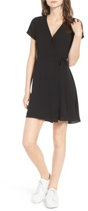 Women's Lush Olivia Wrap Dress $49 thestylecure.com