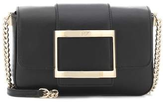 Roger Vivier Très Vivier Micro leather shoulder bag