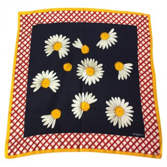 Ungaro Vintage Multicolour Silk Silk handkerchief