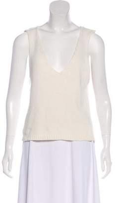 Anine Bing Knit Sleeveless Top