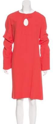 Derek Lam Long Sleeve Knee-Length Dress