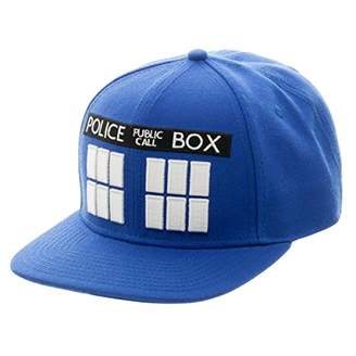 Bioworld Doctor Who Tardis Snapback Hat