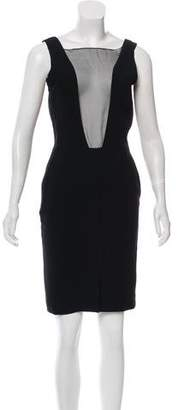 Christian Dior Sleeveless Knee-Length Dress
