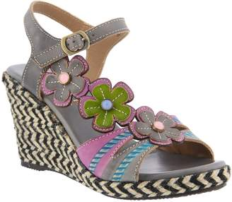 Spring Step L'Artiste by Leather Sandals -Rhianna