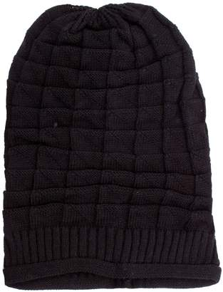 Simplicity Slouch Knit Ribbed Skull Cap Ski Snowboard Beanie Hat