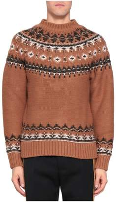 Alexander McQueen Jacquard Wool Sweater