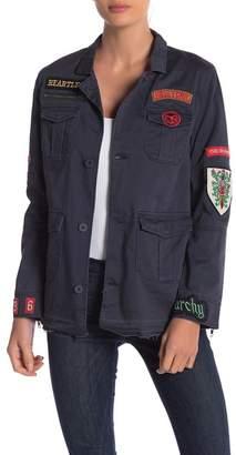 Elan International Military Patch Jacket