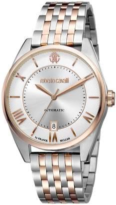 Roberto Cavalli CLASSIC Men's Swiss-Automatic Two Tone Stainless Steel Bracelet Watch