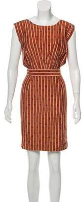 Rachel Comey Silk Blend Mini Dress