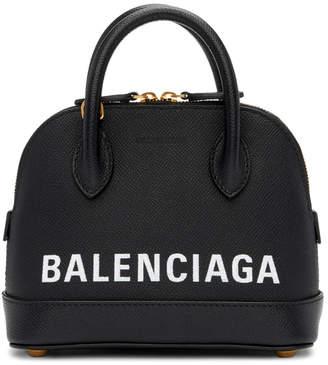 Balenciaga Black XXS Ville Top Handle Bag