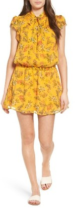 Women's Ella Moss Poetic Garden Silk Dress $238 thestylecure.com