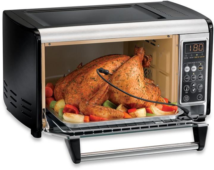 Hamilton Beach 6-Slice Set and Forget Toaster Oven