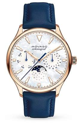 Movado Heritage Celestograf Watch, 36mm