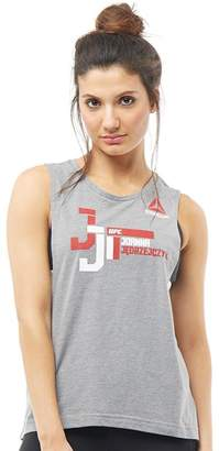 Reebok Womens UFC Joanna Jedrzejczyk Tank Core Heather