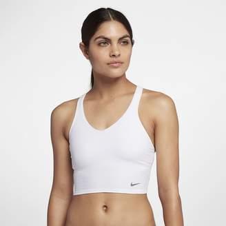 Nike Rib Raceback Midkini Women's Swim Top