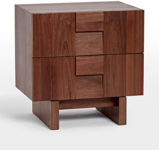 Rejuvenation Kinton Walnut Nightstand