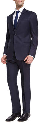 Giorgio Armani Two-Button Soft Basic Suit, Navy