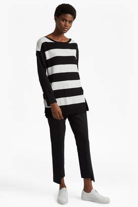 French Connenction Ollie Striped Knit Crew Neck Jumper