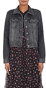Barneys New York XO Jennifer Meyer Women's Denim Jacket - Black