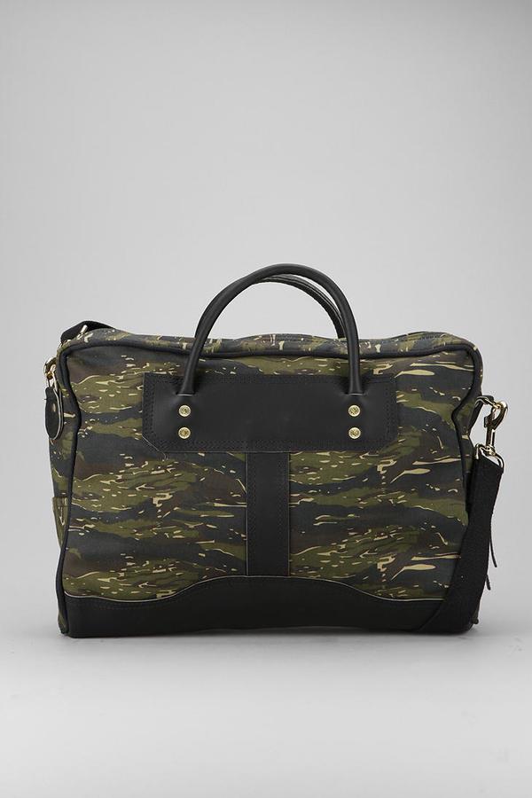 Camo Duluth Tiger Messenger Bag