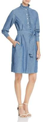 Tory Burch Deneuve Denim Shirtdress