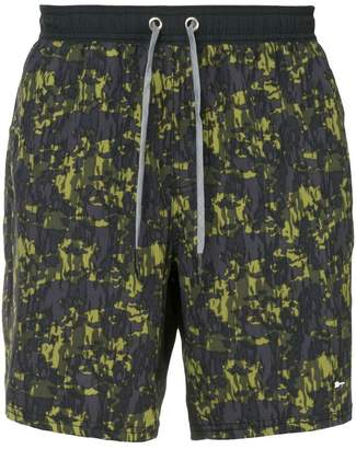 The Upside camouflage running shorts