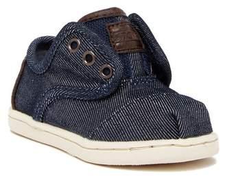 Toms Cordones Denim Lace-Less Sneaker (Toddler & Little Kid)