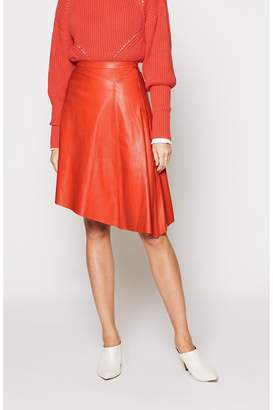 Joie Othelia Leather Skirt