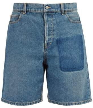 J.W.Anderson Denim Shorts - Mens - Blue