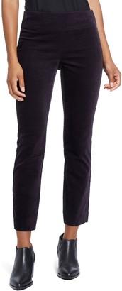 Nic+Zoe Stretch Velvet Side Zip Pants