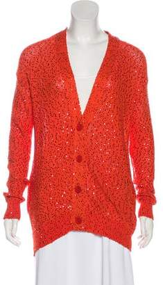 Stella McCartney Sequined Knit Cardigan