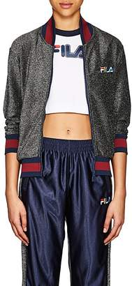 Fila Women's Logo Sparkly Bomber Jacket