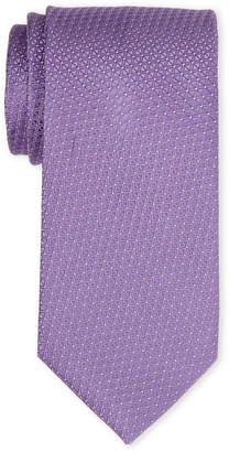 MICHAEL Michael Kors Purple Split Tringle Silk Tie