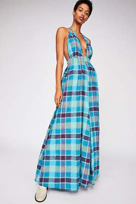 The Endless Summer Look Into The Sun Plaid Maxi Dress