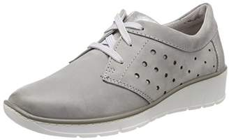 Jana Women''s 23708 Low-Top Sneakers, (Lt. Grey)