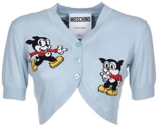Moschino Cropped Cardigan
