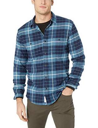 Lucky Brand Men's Long Sleeve Button UP Mason Workwear Shirt